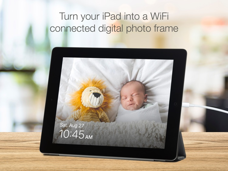 SendFrame Lite - WiFi Photo Frame Slideshow