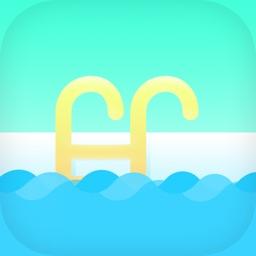 儿童游泳教学-游泳比赛视频