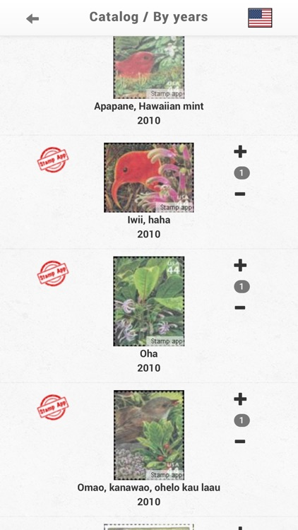 Stamps United States Philately screenshot-3