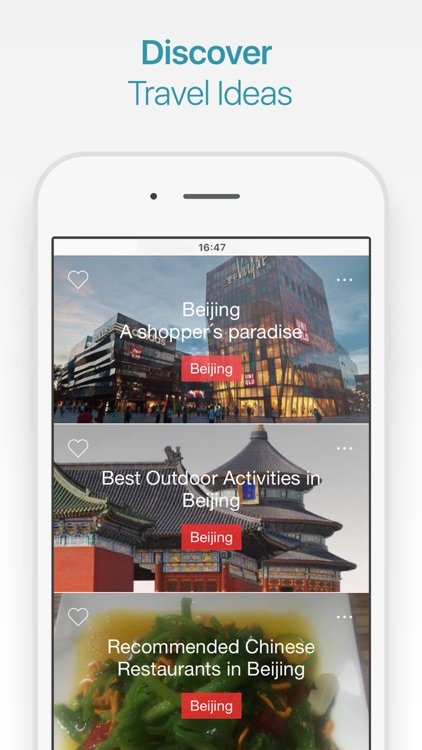 Beijing Travel Guide and Offline City Map