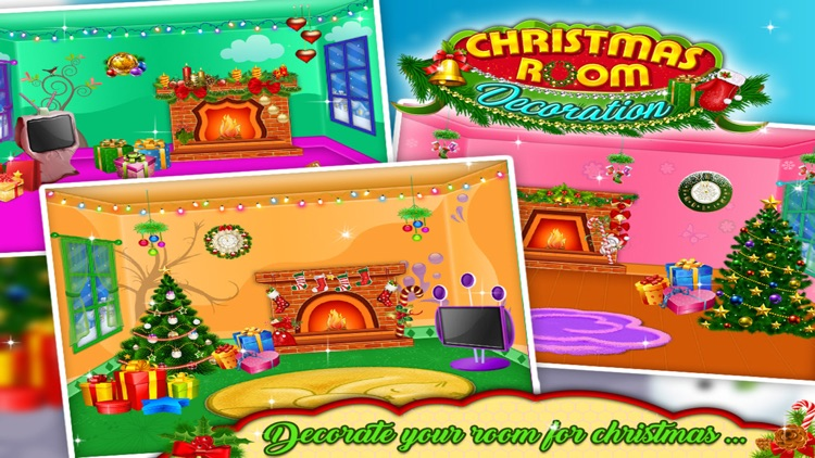 Christmas Room Decoration - Free kids game screenshot-3