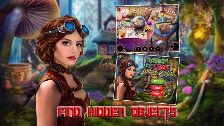 Garden of Love - Hidden Objects Pro