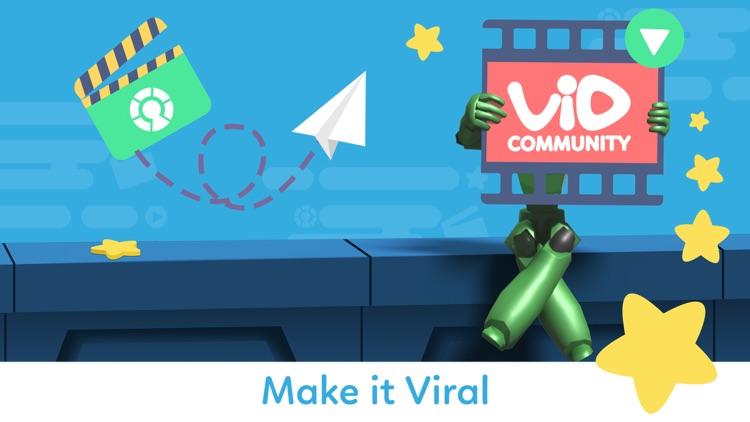 VidMaker - 3D MovieMaker for Kids screenshot-4