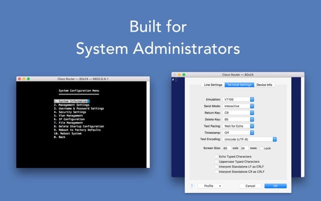mac osx serial terminal emulator