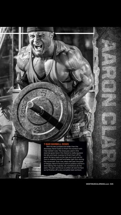 Most Muscular Magazine screenshot 3