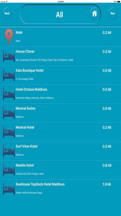Maldives Offline City Map Navigation screenshot-3