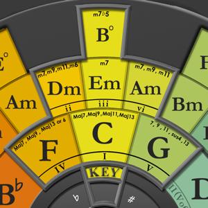 The Chord Wheel app