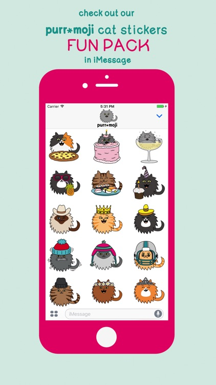 Purr-Moji Cat Stickers screenshot-3