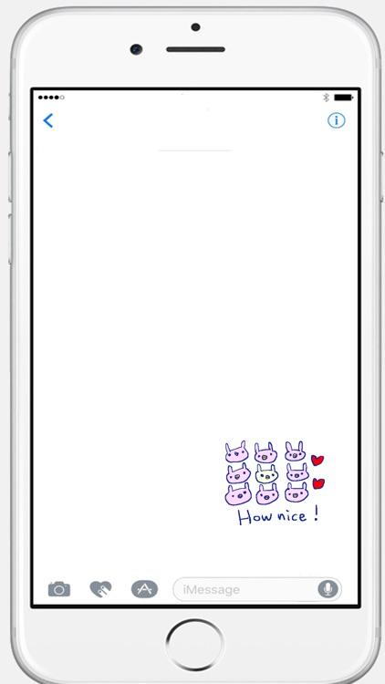 Cute Rabbit Stickers!!