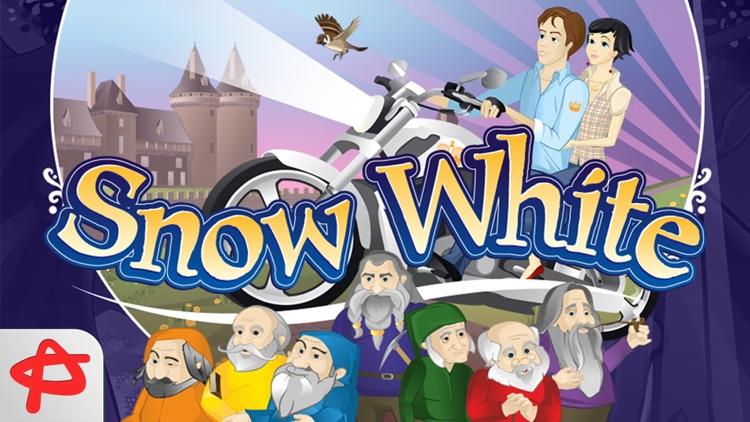 Snow White: Free Interactive Book for Kids screenshot-4