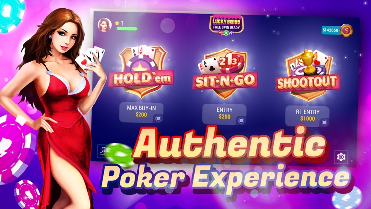 TEXAS HOLDEM POKER ONLINE+ screenshot-4
