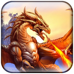 VR Super Flying Fiery Dragon-Real simulator 3D