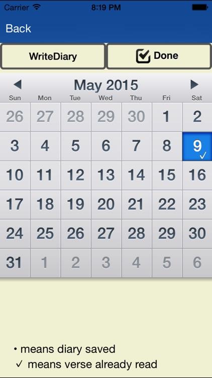 Bible+Diary screenshot-4