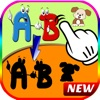 ABC Alphabet matching pictures puzzle game