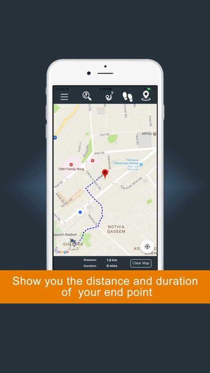 GPS Direction :GPS Driving Route