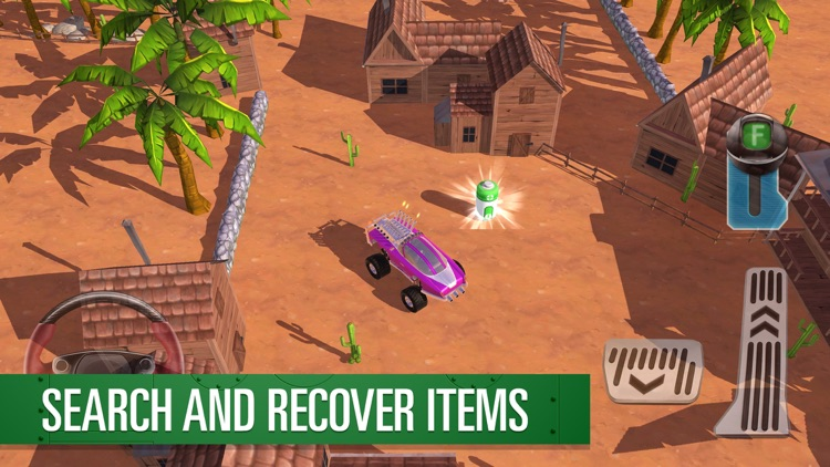 Parker's Driving Challenge Thunderbirds Are Go screenshot-3