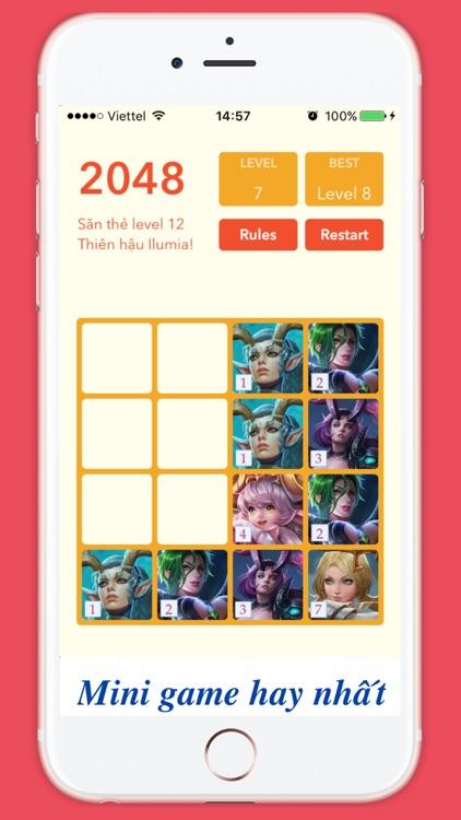 2048 Liên quân mobile cards