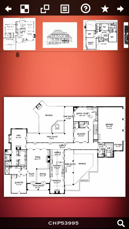 Colonial House Plans! screenshot-0