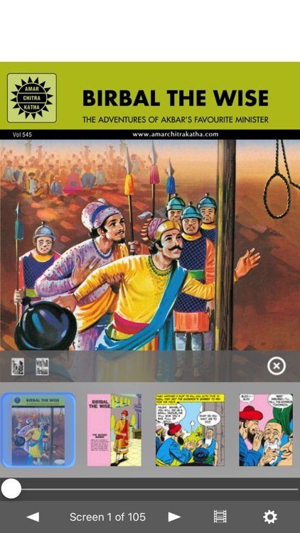 Birbal The Wise - Amar Chitra Katha Comics
