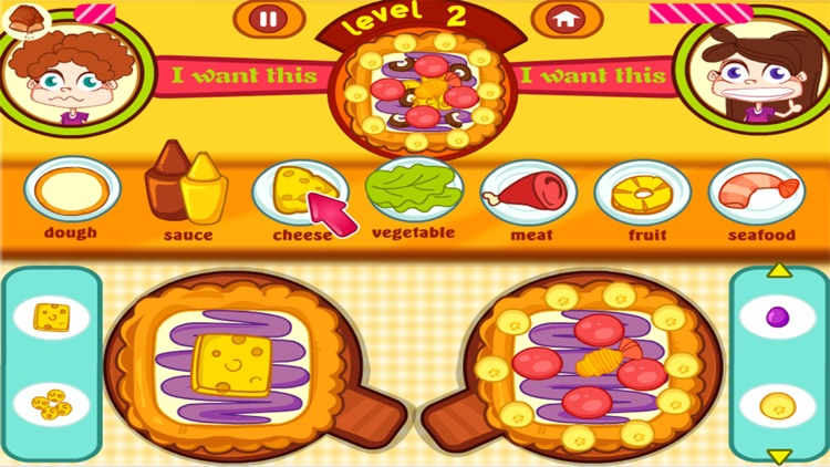 pizza contest - cooking pizza game for girls screenshot-3