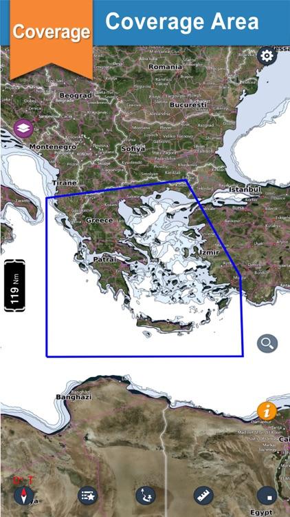 Greece Offline Nautical Charts