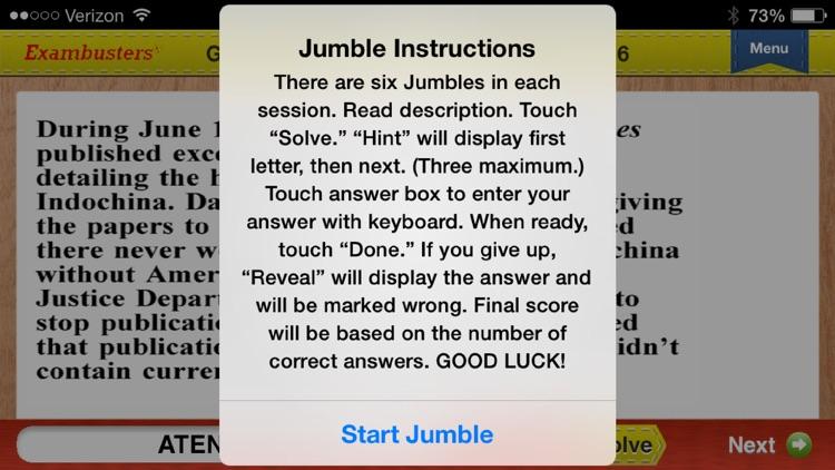 SAT US History Prep Flashcards Exambusters screenshot-4