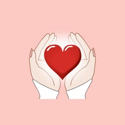 Hand On Heart - Animated GIF Stickers