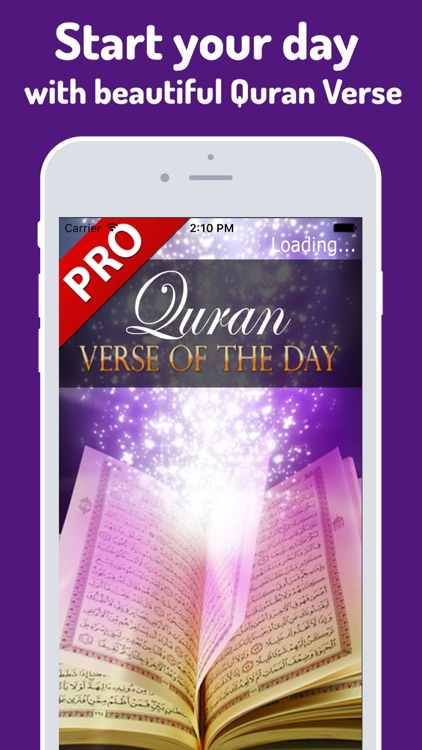 Quran Verse of the Day Pro - Ayat, Islam, Muslim screenshot-0