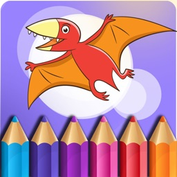 Dinosaur Coloring Book - Free Game for Kids