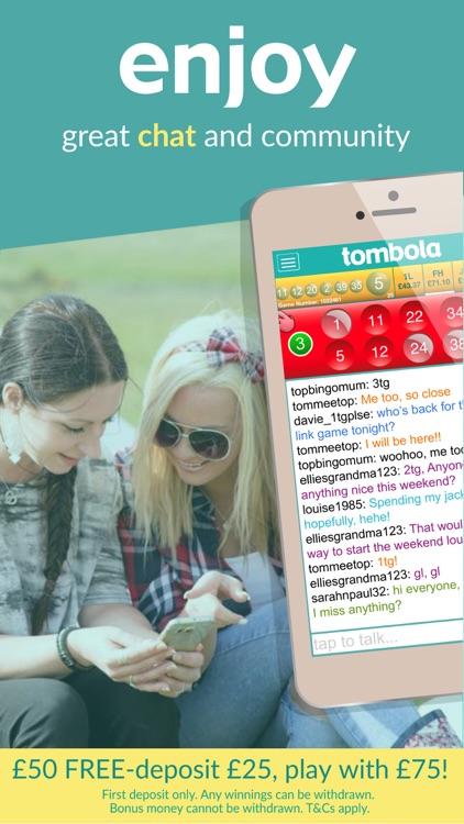 tombola bingo – Britain's biggest real money bingo