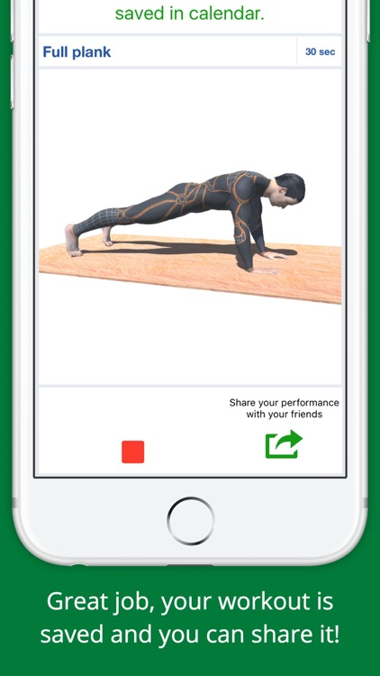 5 Min Super Plank Workout Challenge - Calisthenics screenshot-3