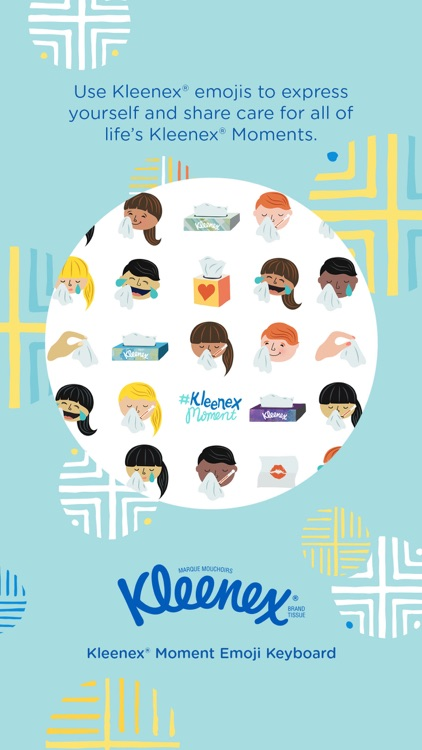 Kleenex® Moment Emoji Sticker Pack