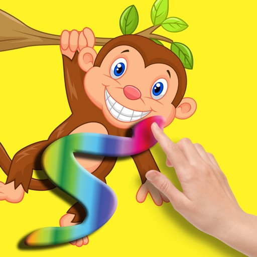 Cute Monkey Coloring Games For Kids by Banyen Thathun