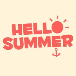 Hello Summer - Sticker Pack