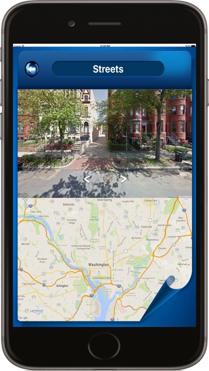 Washington D.C. DC USA - Offline Maps Navigator screenshot-1