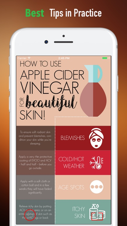 Apple Cider Vinegar 101-Beauty and Home Therapy screenshot-3