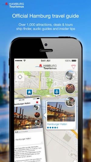 hamburg travel guide on the app store. Black Bedroom Furniture Sets. Home Design Ideas