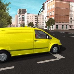 3D Postal Service - Postman Delivery Truck Driver