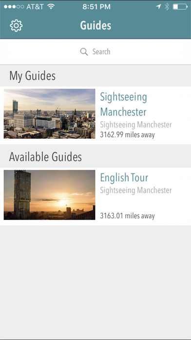 Sightseeing Manchester screenshot one