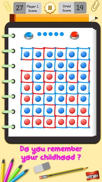 Dot and Boxes - Sqares Classic Board Game screenshot-2