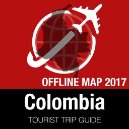 Colombia Tourist Guide + Offline Map