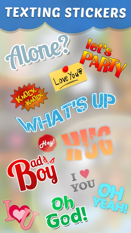 Dirty Texting Stickers
