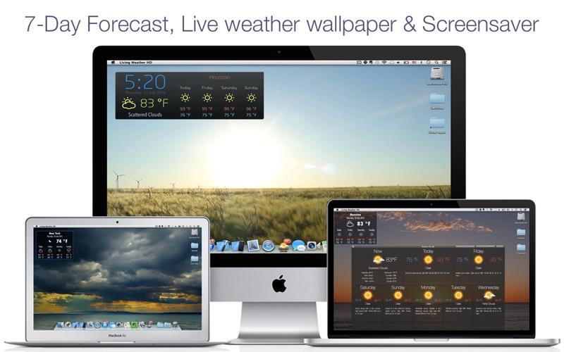 Living Weather & Wallpaper Pro på PC