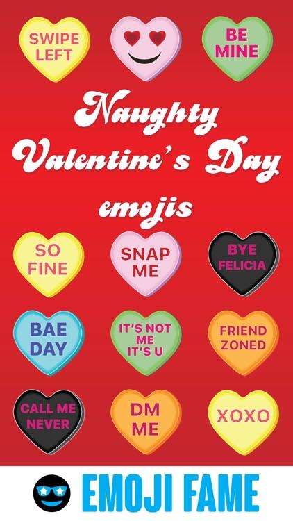 Naughty Valentine's Day by Emoji Fame