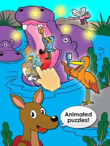 Дети Головоломка Животные Игры Для Детей, Малышей для iPad