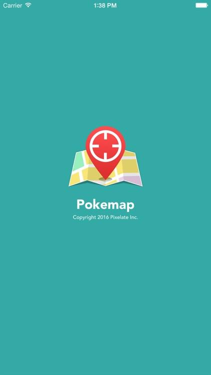 Pokemap for Pokemon GO with Radar Scanner screenshot-3