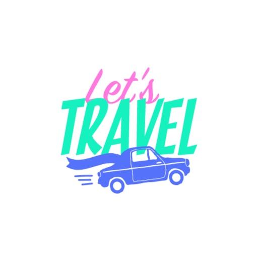 Summer sticker - travel stickers for iMessage