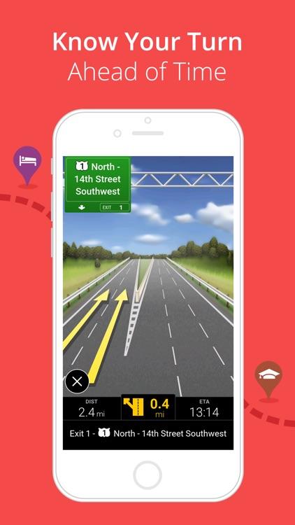 CoPilot USA - GPS Navigation & Offline Maps screenshot-3