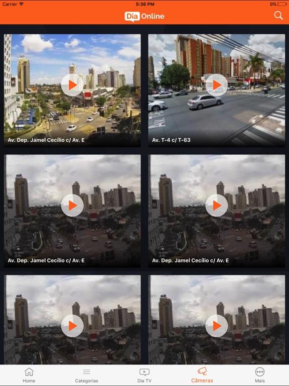 iPad Image of Dia Online