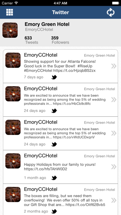 Emory Conference Center Hotel screenshot four